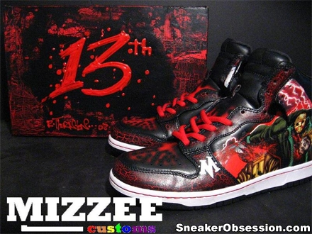 Friday The 13th Custom Nikes Dunk High Shoes - Cx201206 s blog a53557e0b